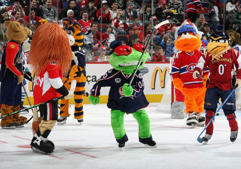 Maskottchen der NHL-Teams #3: Columbus Blue Jackets