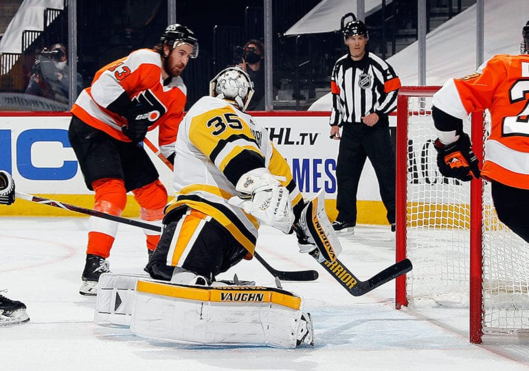 NHL-Auftakt: Penguins kollabieren spät in Philadelphia