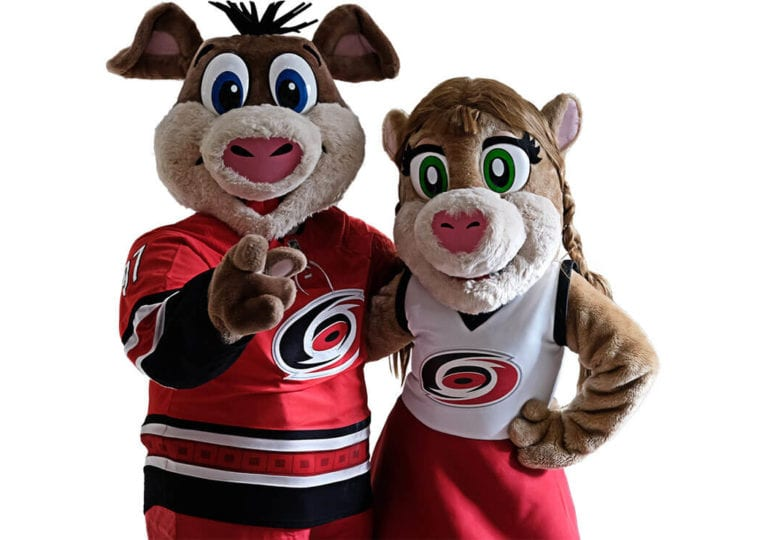 Maskottchen der NHL-Teams #4: Carolina Hurricanes