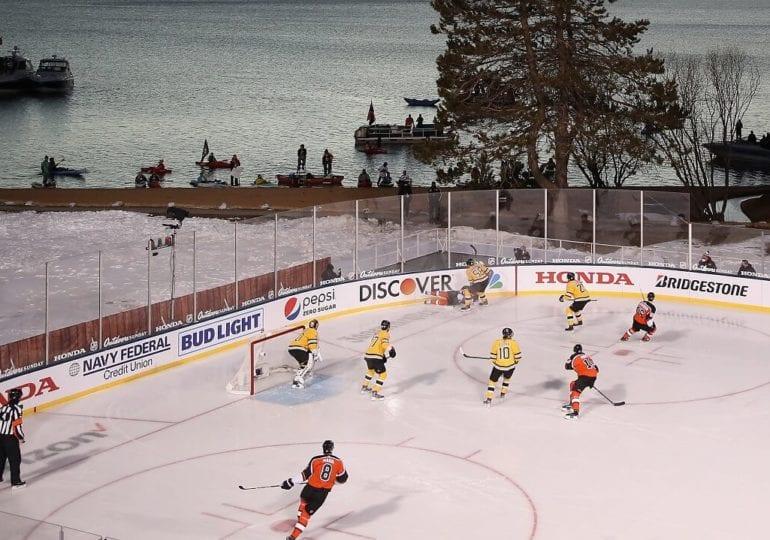 Spektakel mit Hindernissen: So liefen die NHL Outdoors at Lake Tahoe