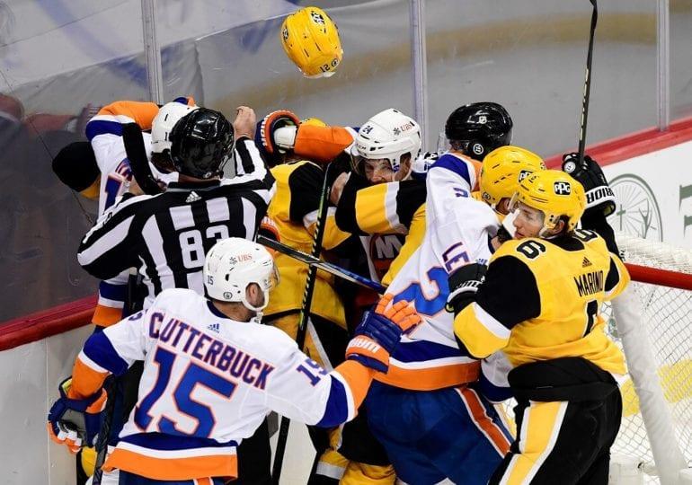 Division-Finale 1993: Islanders beenden kurze Penguins-Dynastie