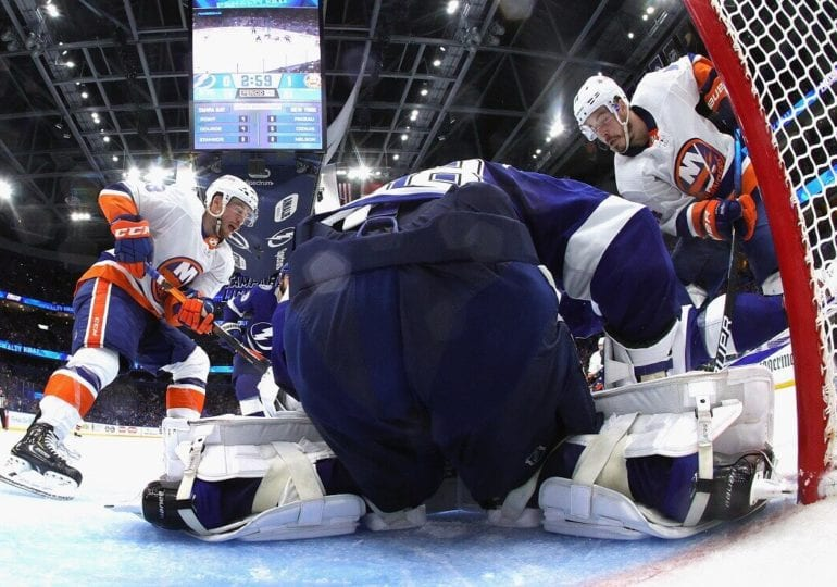 NHL-Playoffs: Islanders feiern Auswärtssieg in Tampa