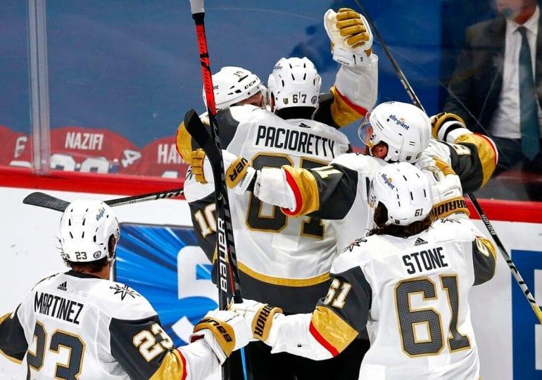 NHL-Playoffs: Vegas gleicht mit Overtime-Sieg aus