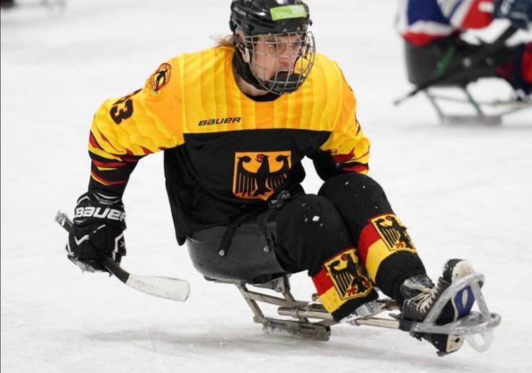 Para-Eishockey-Nationalmannschaft wird Zweiter bei B-WM