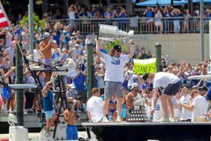 Tampa Bay Lightning weiter auf Sommertour mit Stanley Cup