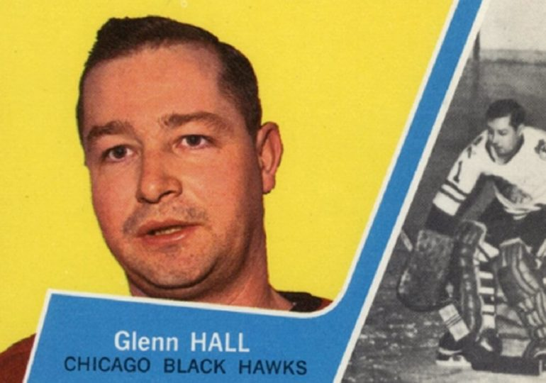 Der erste Schmetterling: Glenn Hall feiert Geburtstag